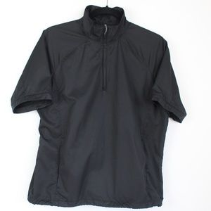 Nike Golf black clima-fit 1/4 zip pullover